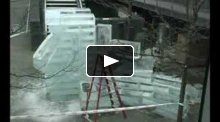 2300°: Tiki Fire & Ice (building the ice sculpture)