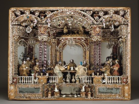 Mid-18th Century Mechanical Glass Theater
