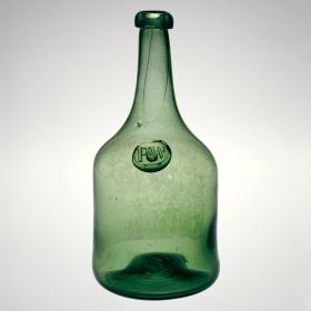 Richard Wistar Bottle by Wistarburgh Glassworks