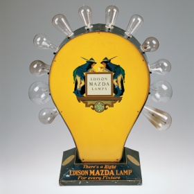 Light Bulb Tester by American Art Works, Inc. and Maxfield Parrish