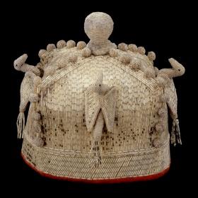 Mid-20th Century Yoruba Crown