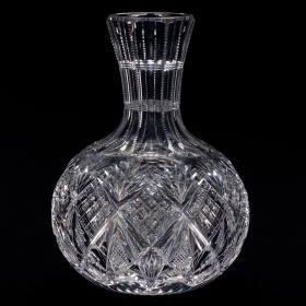 Water Carafe, cut in Wheeler pattern by Henry Wilde
