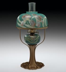 Kerosene Lamp by Pairpoint Manufacturing Co.