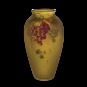 Ambero Glass Vase by Pairpoint Corporation