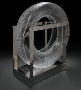 Tire by Robert Rauschenberg
