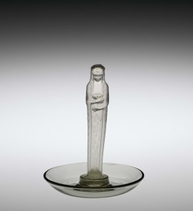 Ashtray, Statuette de la fontaine (Fountain statuette), 1925 (2011.3.471, gift of Elaine and Stanford Steppa)