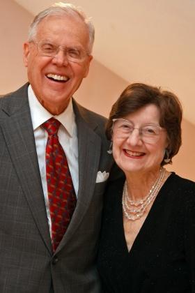 Paul and Elmerina Parkman - photo by Miriam Rosenthal