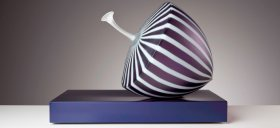 Purple Stripped Fruit #110115, 2015 by Nick Mount (Photo by Pippy Mount)