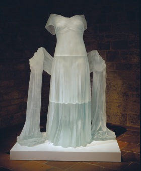 Karen LaMonte - Evening Dress with Shawl