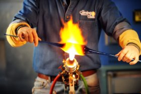 Road Scholars Glassmaking Course at The Studio