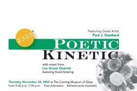 2300: Poetic Kinetic