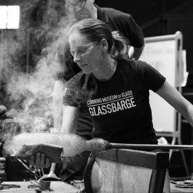 Helen Tegeler Hot Glass Team Guest Artist Demo