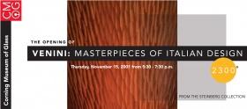 2300°: Venini: Masterpieces of Italian Design