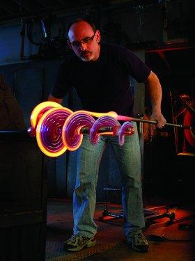 Local Artists Week Demonstration: Vitrix Hot Glass Studio