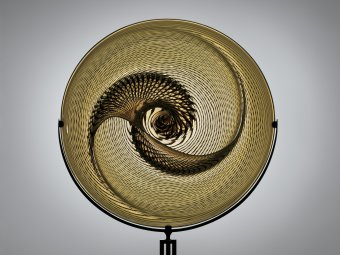 Nautilus, Lino Tagliapietra, Seattle, WA., 1994. Gift of the Ben W. Heineman Sr. Family. 2007.4.237.