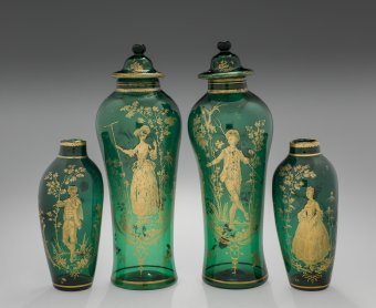 Set of Ornamental Vases.