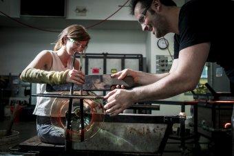 Anna Riley and Ross Delano