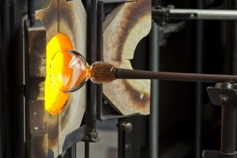 Hot Glass Demos at the Museum