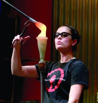 Hot Glass Show Glassblower