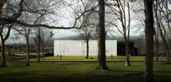 The new North Wing at The Corning Museum of Glass. Photo courtesy of Thomas Phifer & Partners.