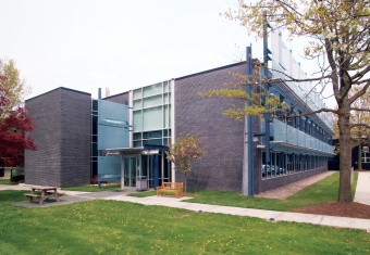 exterior of The Rakow Research Library