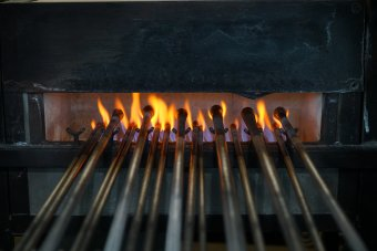 Blowpipes heating up