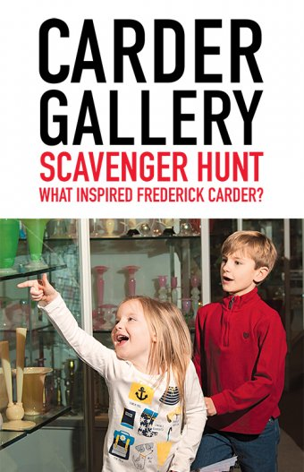 Glass Detectives: Carder Gallery Hunt