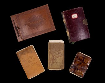 Notebooks from the Arthur J. Nash and Leslie H. Nash collection on Tiffany Studios