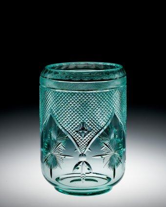 Celadon Vase, Frederick Carder, Corning, N.Y., 1920-1929. Gift of Steuben Glass. 75.4.440.