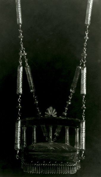 Fig. 3: Swing made for the nizam's palace, Hyderabad, India, Elias Palme, about 1895. Národní Technické Muzeum, Prague.