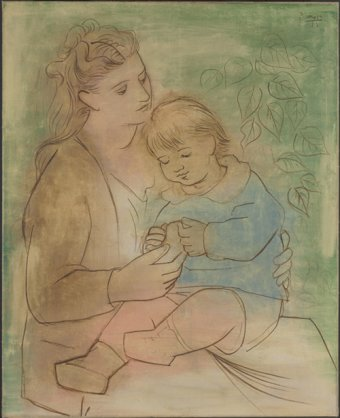 Pablo Picasso (Spanish, 1881-1973), Mother and Child, 1922
