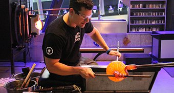 Glass Pumpkin Demos