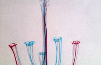 Design drawing by Paul Cocksedge for GlassLab