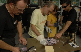Designers Constantin Boym and Laurene Boym at GlassLab