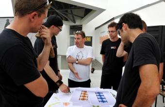Designer James Irvine at GlassLab Art Basel 2011