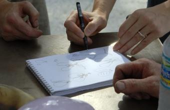 Designer Matali Crasset at GlassLab Design Miami 2007