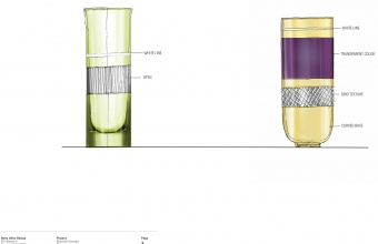 Design concept by Harry Allen and Chris Hacker for GlassLab in Corning