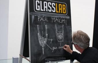 Designer Paul Haigh at GlassLab