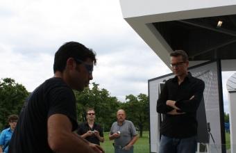 Designer Beat Karrer at GlassLab