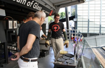 Project Waffle with designer Harry Allen for GlassLab