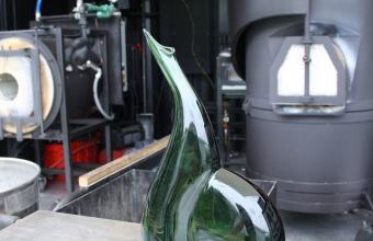 Vase prototype by designer Harry Allen for GlassLab