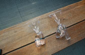 Design prototype by Wendell Castle for GlassLab, June 2012