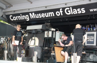 Designer Jon Otis at GlassLab at Governors Island