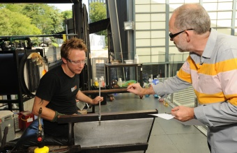 Constantin Boym in a GlassLab Design Session in Corning, NY, August 2012