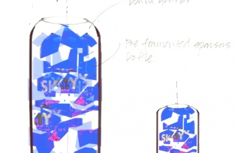 Design concept by Paul Haigh for GlassLab at Design Miami 2007