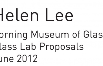 Design Concept by Helen Lee for GlassLab at Governors Island, 2012