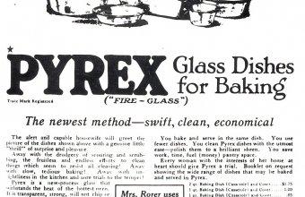 Pyrex advertisement 1915