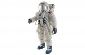 Fiberglass spacesuit