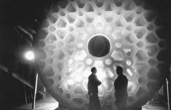 200-inch Pyrex® mirror blank, Palomar Observatory
