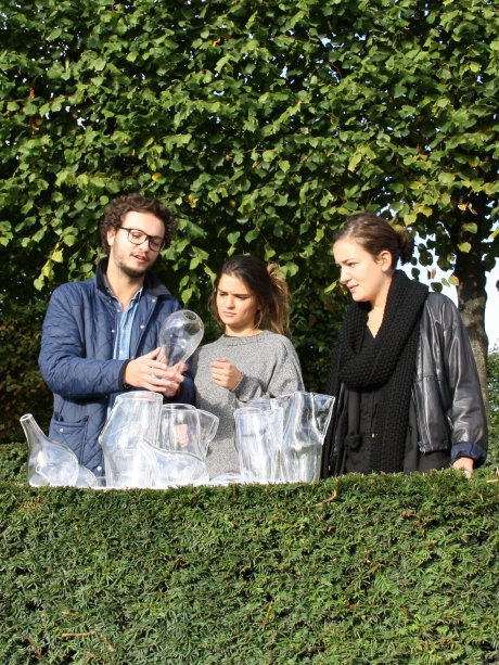Florent Dufourcq, Morgane Bertin and Blandine Cattani